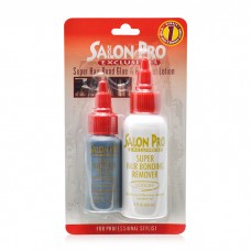 Salon Pro Exclusives Hair Bonding Glue(1oz) and Remover(2oz) COMBO (Blister pack)