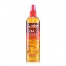 Salon Pro Exclusives Braid Sheen Shine Spray Argan Oil (12 oz)