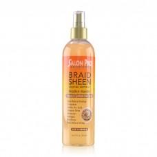 Salon Pro Exclusives Braid Sheen Shine Spray Brazilian Keratin Oil (12 oz)