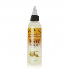Salon Pro Hair Food Coconut Oil w/ Almond & Oilve Oil (4 oz)