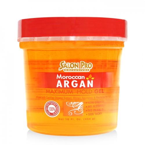 Salon Pro Exclusives Moroccan Argan Styling Gel (16 oz)