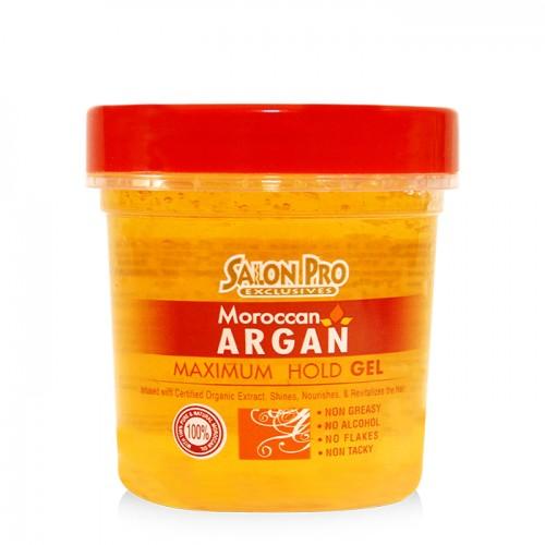 Salon Pro Exclusives Moroccan Argan Styling Gel (8 oz)