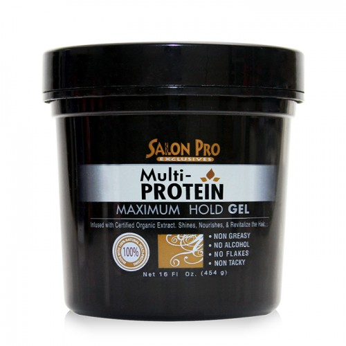 Salon pro Exclusives Multi Protein Styling Gel (16 oz)