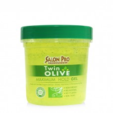 Salon Pro Exclusives Twin Olive Styling Gel (8 oz)